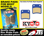 FRONT SET OF DISC BRAKE PADS TO SUIT DAELIM S Five SJ50 SJ 50 (01-12)