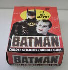 Batman Movie Topps Sealed Packs Box 36ct 1989