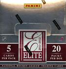 2011 12 PANINI ELITE HOCKEY HOBBY BOX