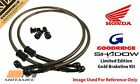 Goodridge GOLD For Honda Cb550 K3 77-79 Front SS Braided Brake Lines