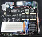 1602 LCD Resistor Step Motor Servo Breadboard LED Starter Kit For Arduino