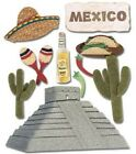 Jolees Boutique Stickers Mexico 1304