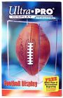 Ultra Pro Football Holder - Full Size Pro Ball - Crystal Clear Display Case