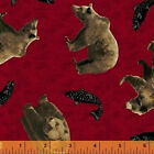 Windham Fabrics CABIN FEVER by Whistler's Studios 100% Cotton Fabric