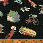 Windham Fabrics PLEASANTDALE by Whistler's Studios 100% Cotton Fabric