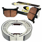 SUZUKI GS450E GS450G GS450L GS450S GS450T 80-85 88 FRONT & REAR BRAKE PADS SHOES