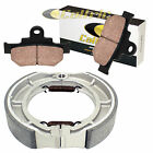 SUZUKI LS650 LS650F LS650P SAVAGE 1986-2011 FRONT BRAKE PADS & REAR BRAKE SHOES