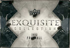 2012 UD EXQUISITE COLLECTION HOBBY BOX (FACTORY SEALED)