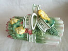 Fitz & Floyd Herb Garden  Asparagus Covered Dish w/ Lid  C/B a Butter Dish