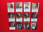 Eureka lot of 12 Autograph & Costume Cards