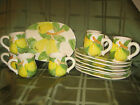 Shafford Luncheon Set 14 Pieces 'FRUIT DU JOUR' Pears 1987  NEW