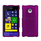 HTC 8XT Case Purple Rubberized coated Snap On Hard Cover Sprint