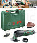 Bosch 240v Multi Function Tool With Detail Sander Pad, Wood/Metal Blades PMF190E