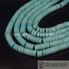 Blue Howlite Turquoise Gemstone Heishi Spacer Beads 2mm 3mm 4mm 6mm 8mm 10mm 16