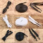 Flat Wax Waxed Shoelaces Strings Laces Shoestrings Bootlaces Black White Brown