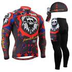 FIXGEAR CS-1101 SET Cycling Jersey & Padded Pants,MTB Bike,BMX,Beanie Free GIFT