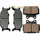 FRONT & REAR BRAKE PADS FITS YAMAHA XJ600 XJ600S DIVERSION SECA II 1991-1997
