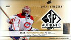 2012 13 UPPER DECK SP AUTHENTIC HOCKEY HOBBY BOX (3 AUTOS BOX) [FACTORY SEALED]