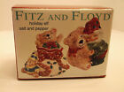 NIB Fitz and Floyd Holiday Elf Salt & Pepper Shakers
