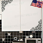 Corner Decorations Removable Wall Sticker Vinyl Decal Home Decor