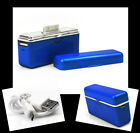2800MAH PORTABLE EXTERNAL BLUE BATTERY CHARGER USB IPHONE 4S 4 3GS IPOD NANO