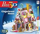 PUZZ 3D JIGSAW PUZZLE GINGERBREAD HOUSE 441 PCS HOLIDAYS CHRISTMAS