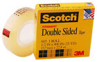 3M Scotch Double Coated Tape 665 Double Sided Roll 1 Core Photo Safe