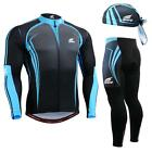 FIXGEAR CS-5601 SET Cycling Jersey & Padded Pants,MTB Bike,BMX,Beanie Free GIFT