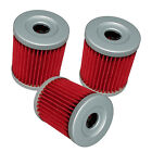 OIL FILTER FITS SUZUKI DRZ125 DRZ125L DR-Z125 DR-Z125L 2003-2017 3-PACK