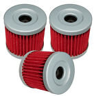 SUZUKI LTZ400 LT-Z400 QUAD SPORT 2003 2004 2005 06 07 08 2009 OIL FILTER 3-PACK