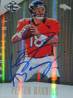 Peyton Manning Signed 2012 Panini Limited AUTO STEINER PSA DNA 1 1 18 25