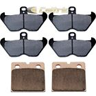 FRONT & REAR BRAKE PADS FITS BMW K1100LT ABS Basic High Line SE 1997