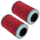2 Pack Oil Filter FITS KTM 525 EXC XC XC-W XC-G XC DESERT RACING 525 2006-2009