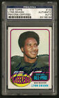 1976 Topps LYNN SWANN Autograph PSA DNA Authentic Steelers Auto