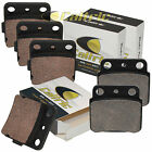 FRONT & REAR BRAKE PADS FITS SUZUKI LT-Z400 LTZ400 QuadSport 2003-2014