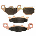 Front & Rear Brake Pads for Kawasaki EX250 Zz-R250 ZZR250 1990-2004 2006 2007