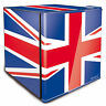 Union Jack Branded Table Top Mini Drinks Fridge