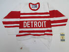 DETROIT RED WINGS AUTHENTIC PRO 1992 VINTAGE CCM 6100 HOCKEY JERSEY SIZE 48