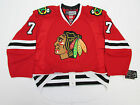 SEABROOK CHICAGO BLACKHAWKS AUTHENTIC HOME REEBOK EDGE 2.0 7287 HOCKEY JERSEY