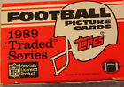 1989 TOPPS TRADED FOOTBALL COMPLETE FACTORY SET BARRY SANDERS RC AIKMAN ROOKIE