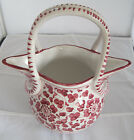 VINTAGE DERUTA ITALY DIPINTO A MANO DOUBLE SPOUT 2-SIDED  POTTERY PITCHER