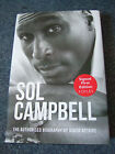 SOL CAMPBELL Biography HAND SIGNED By SOL First Edition 1 1 Hardback Book