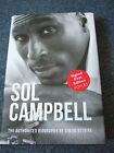 SOL CAMPBELL Biography DOUBLE SIGNED First Edition First Print Hardback Book