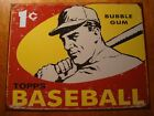 TOPPS BASEBALL BUBBLE GUM CARDS Rustic Retro Advertising Reproduction Sign NEW