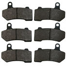 Factory Spec brand Front & Rear Brake Pads Harley-Davidson Motorcycles 3x FS-485