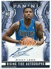 2013-14 Panini Rising Tide Auto #22 Ricky Ledo RC - Mavericks