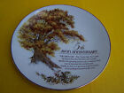VINTAGE 5TH AVON ANNIVERSARY THE GREAT OAK  PLATE WITH NO BOX OR PAPERWORK