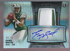 2013 Bowman Sterling Prizm Refractor 2 Color Patch Auto Geno Smith RC 4 55 Jets