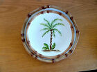 Home Trends West Palm Tree Design Stoneware   1 Salad Plate   9