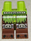 LEGO LOT OF NEW GREEN AND BROWN MINIFIG ISLANDER NATIVE PIRATE LEGS PANTS